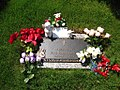 Graceland Cemetery Memphis TN Jessie Caron Presley.jpg