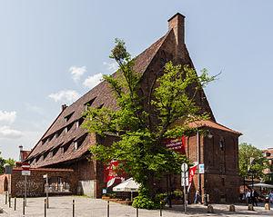 History of Gdańsk - Great Mill of Gdańsk.