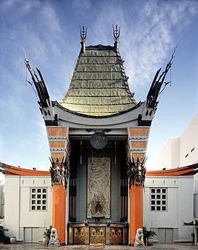 A frente do Grauman's Chinese Theatre.