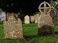 Gravestones, Kenton - geograph.org.uk - 1570321.jpg