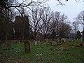 Graveyard in spring. - geograph.org.uk - 162229.jpg