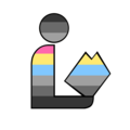 Gray Pansexual Pride Library Logo.png
