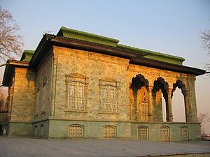 Green Palace in the Sadabad Palace complex of ...