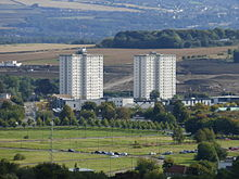 220px Greendykes flats from Arthur%27s Seat