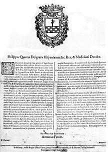 Grida del 29 luglio 1630 con la condanna di Piazza e di Mora