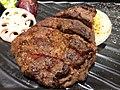 Grilled steak in the Tokiya restaurant in Taipei.jpg
