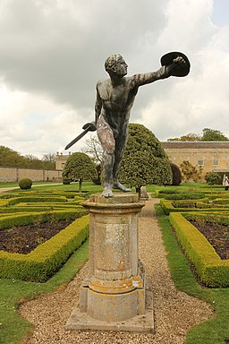 Grimsthorpe Castle gladiator