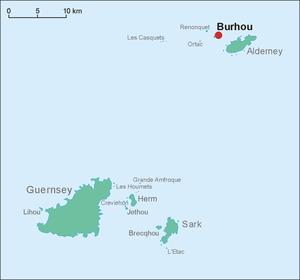 Burhou - Burhou is North West of Alderney