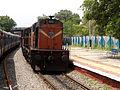 Guntur-KCG-Medchal Passenger with WDG-3A loco.jpg