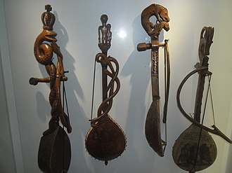 Gusle - Gusle in Ethnographic Museum of Montenegro in Cetinje