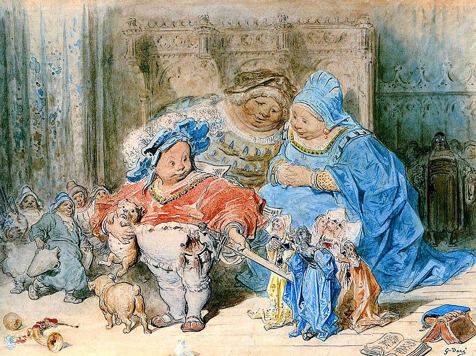 Gustave Doré-L'Enfance de Gargantua