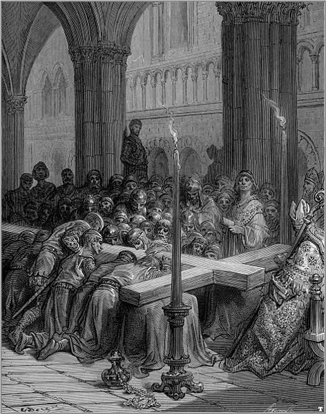 Soubor:Gustave dore crusades the discovery of the true cross.jpg