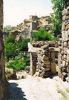 Güzelyurt District in Central Anatolia, Turkey