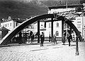 Híd a Recsina folyón az Olaszországhoz és a Szerb-Horvát-Szlovén királysághoz tartozó városrész között. Fortepan 28798.jpg