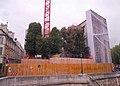 Hôtel Lambert, Paris - View from Pont de Sully, Under Repairing.jpg