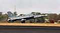 HAL Tejas taking off at Aero India 2011.jpg