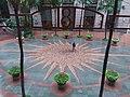 HK 上環 Sheung Wan 永樂街 Wing Lok Street 太陽神 Sun pattern mark flooring visitor September 2018 SSG.jpg
