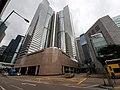 HK Central 中環 耀民街 Yiu Man Street footbridge view Exchange Square Harbour View Street May 2020 SS2 05.jpg