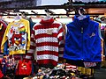 HK North Point 北角 馬寶道 Marble Road outdoor market angry bird children clothing Dec-2012.JPG
