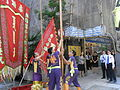 HK SW 119 Queen's Road West Kiu Fat Building Parkn Shop Grand Opening 06 Ha Master Aug-2012.JPG