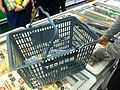 HK Sai Ying Pun 阿信屋 759 Store plastic shopping baskets Jan-2014.JPG