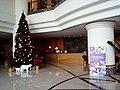 HK TSW 天水圍 Tin Shui Wai 天恩路 Tin Yan Road 嘉湖海逸酒店 Harbour Plaza Resort City hotel interior Xmas tree n counter Dec 2016 Lnv2.jpg