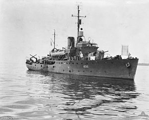 HMAS Deloraine - Wikipedia