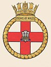 HMS Prince of Wales ships crest.JPG