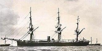 HMS Rover (1874) - HMS Rover