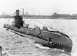 HMS <i>Saracen</i> (P247) S-class submarine of the Royal Navy