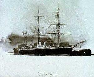 HMS Valorous (1851) - HMS Valorous