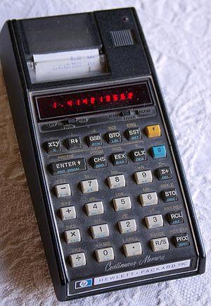 HP-19C/-29C - HP-19C calculator