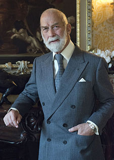 Prince Michael of Kent grandson of King George V and Queen Mary