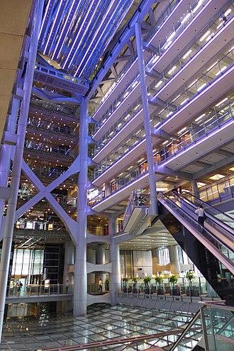 HSBC Building (Hong Kong) - Atrium