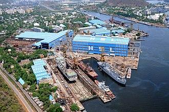 Hindustan Shipyard - Image: HSL view 2