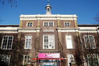 St. Elisabeth Gasthuis, Haarlem - Former main entrance, today the Egelantier