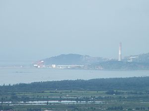 2011 Haimen protest - The first power plant in Haimen. Concerns about the construction of a second such plant sparked the December 2011 protests and riots.