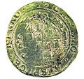 Halfcrown of Charles I - Counterfeit (YORYM-1995.109.10) reverse.jpg