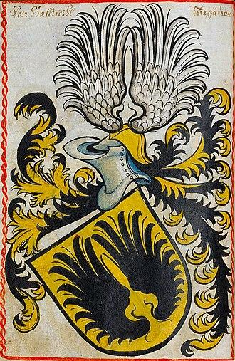 Swiss nobility - Image: Hallwyl Scheibler 104ps