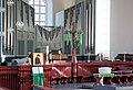 Hamburg-Altona, Kirche St. Trinitatis, Orgel und Kruzifix.JPG