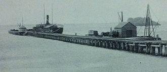 Hamelin Bay, Western Australia - Hamelin Bay Jetty in 1899
