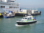 Hampshire Police boat in Portsmouth Harbour.JPG