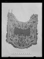 Handhästtäcke, ur en svit om 30 st med svenska riksvapnet och Karl XIs namnchiffer - Livrustkammaren - 51988.tif