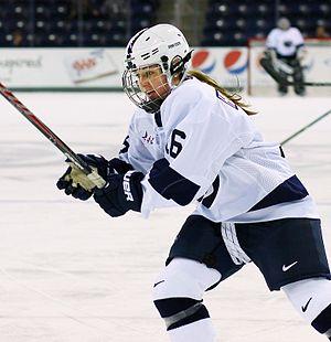 Penn State Nittany Lions women's ice hockey - Hannah Hoenshell, Penn State's leading scorer in 2013–14
