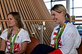 Hannah Mills and Becky James with 2016 Olympic Medals.jpg