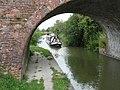 Hannah approaches Woodway Bridge - geograph.org.uk - 1409510.jpg