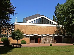 Hannover Buchholz Kirche Maria Frieden.JPG