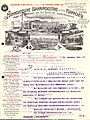 Hannoversche Bahnindustrie GmbH Hannover Fabrik für Bahnbedarf Bau von Normal- und Schmalspurbahnen Herrenhausen Brief 1908-12-19 Colberger Sprudel Coburg Raststraße 8 S 1.jpg