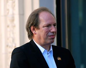 Hans Zimmer at the Hollywood Walk of Fame cere...