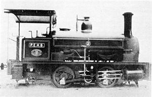 Port Elizabeth Harbour 0-4-0ST - Image: Harbour Board PE 0 4 0ST no. 01016 ex no. 2